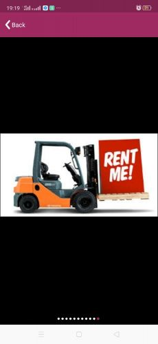 3 to 10 ton forklifts RENT