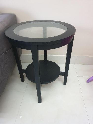 ikea coffee table and side table