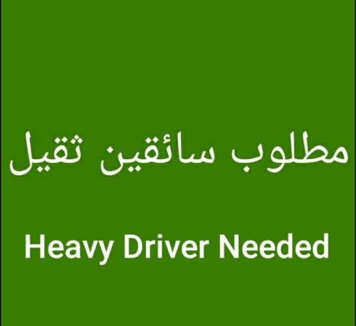 Heavy Drivers needed with qatari license