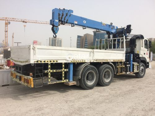 10 tone boom Truck for rent