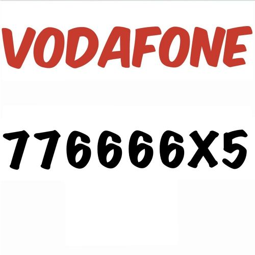 for sale special Vodafone number