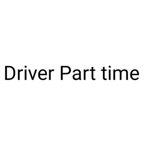 Part time Driver