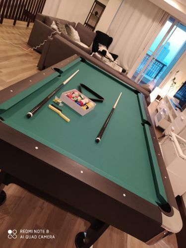 Pool table new arrival