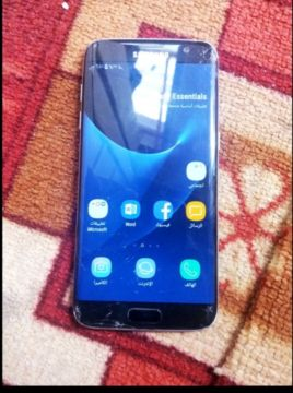 Samsung Galaxy S7 edg only شاشة فيها كسو