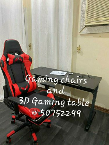 Gmaing chairs & 3D Gmaing  Table