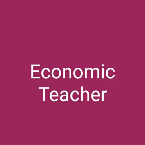 Economic online teacher
