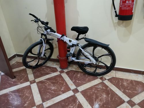 bicycle folded like new for sale