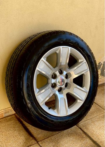 Gmc sierra rims & tires for SALE
