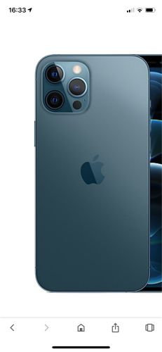 iPhone 12 pro max 128 blue
