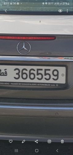 car with number plate