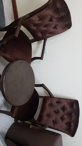 coffee chairs with table. table is in perfect conditions.
