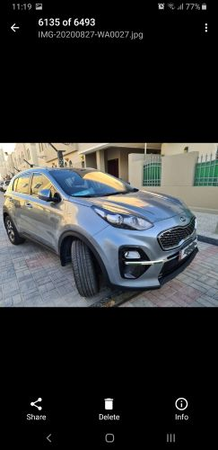 kia sportage || 2020 || 15000 km || No accident  || 2.0 Engi