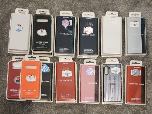 """""""ORIGINAL"""" Samsung S10 and note 10 assorted covers"""