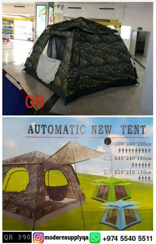 Foldable light weight tent 3x3 meter can accommodate 8-10 pe