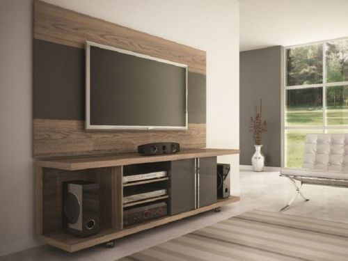 two Colors tv cabinet