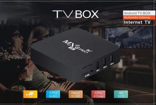 4k Tv box with 8000 channel iptv