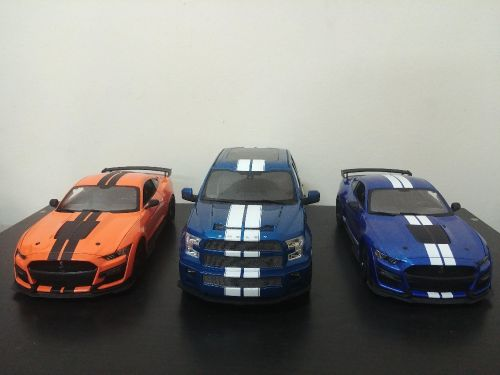 1:18 3 Shelby model cars