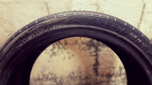 only one tyre for sale