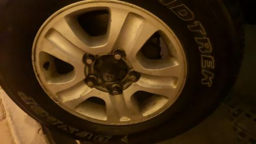 land cruiser rims size 17 original