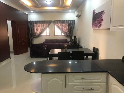 flat in al-thumama with month fre