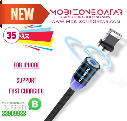 iPhone magnetic change cable