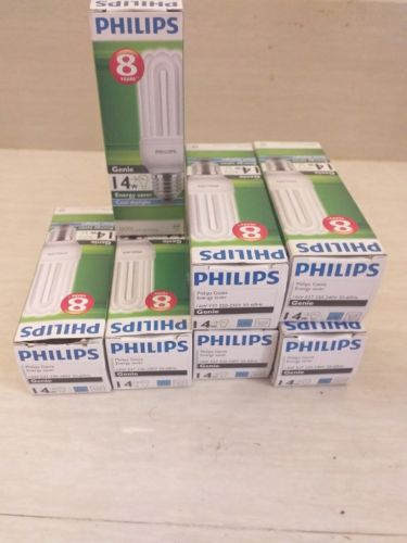 9 Philip's and max brands, energy saver bulbs,