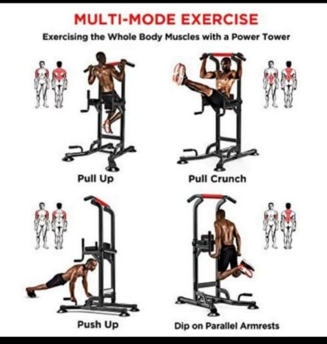 Multifunctional pull up bar and weight banch