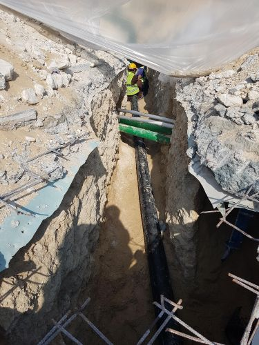 Contractor for Infra structure (water, electricity, and Tele