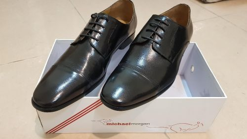 Genuine Leather Michael Morgan Shoes 44 size