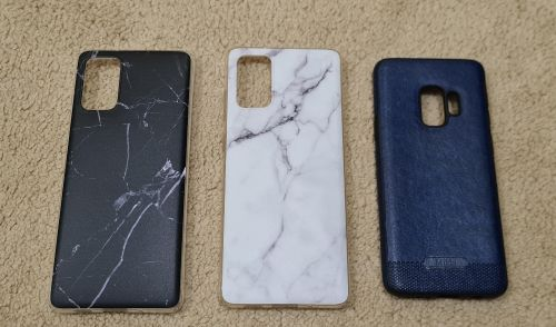 Free Galaxy S20 plus and S9 covers. choose only one cover