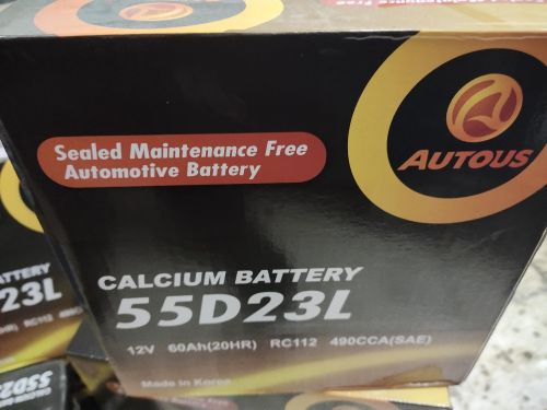 Battery 55D23L fits Camry