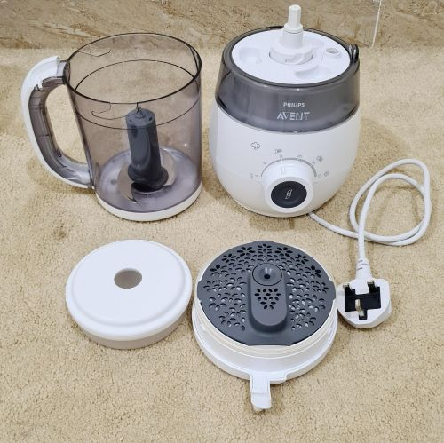 Philips 4-In-1 Healthy Baby Food Maker, White  Prepare baby
