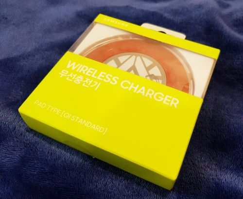 Samsung wireless charger. Avengers limited series.