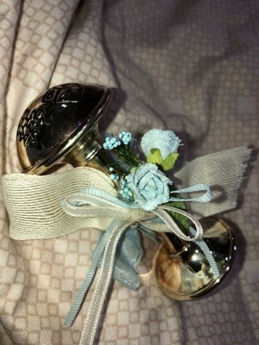 Antique Silver Plated Baby Rattle