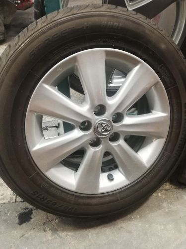 corolla rims with tyre