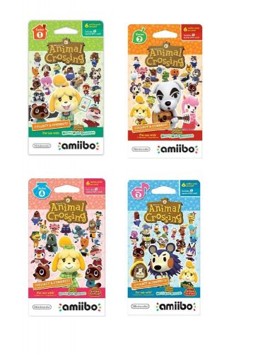 S1-1 Animal Crossing: New Horizon Villagers Amiibo Cards for