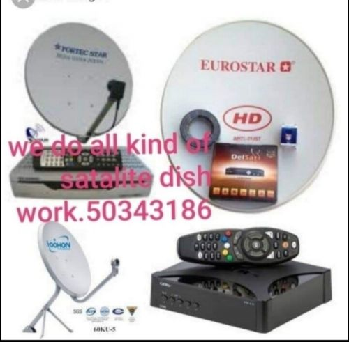Shower and satellite dish fitting technician Specialized in