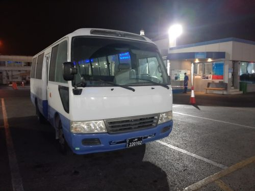Bus Coaster 26 seats 2011 for rent