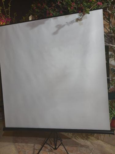 Projector Screen with stand 111 inch