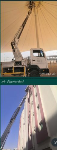 TRUCK MOUnTED MANLIfT 21,28,30 meters for RENT