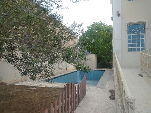 Spacious villa with very nice view of lusail