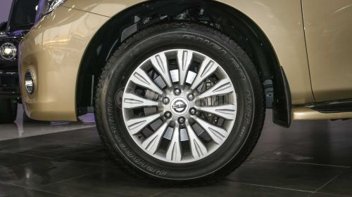 Nissan Patrol rims required