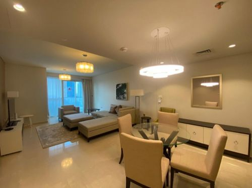 luxury 2bhk fully furnished in lusail