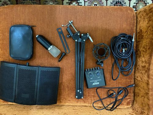 full set of recording instrument and vocals