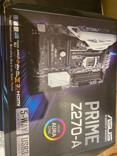 motherboard with intel core i7