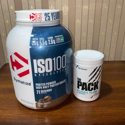 ISO WHEY PROTEIN BCAA SUPPLEMENTS