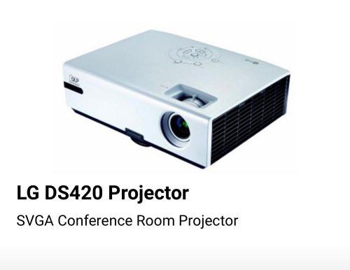 for sale projector LG DS 420