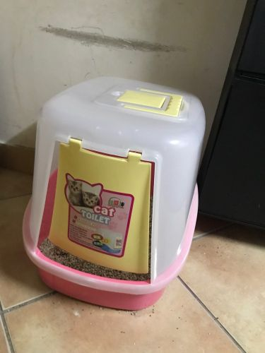 litter box with cover