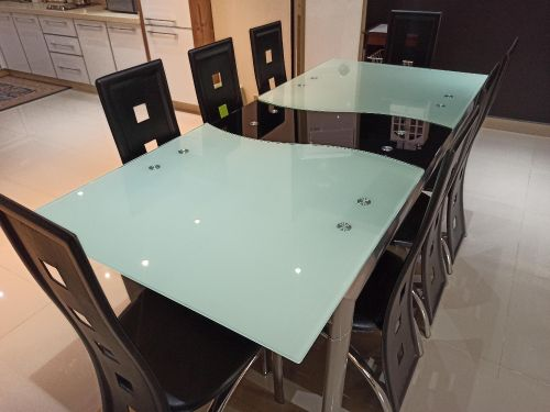 Marble Dining Table+8 chairs