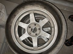 4-Rims with Tyers, for Camry 2009
